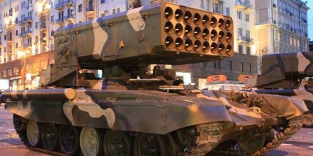 4 Senjata Canggih Rusia Untuk Habisi ISIS di Suriah