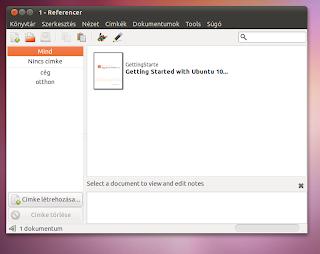 Rendszerező Ubuntu Linux 10 10