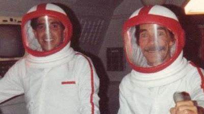 foto nueva de ruben aguirre y don ramon astronautas