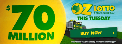 Queensland powerball lotto prize