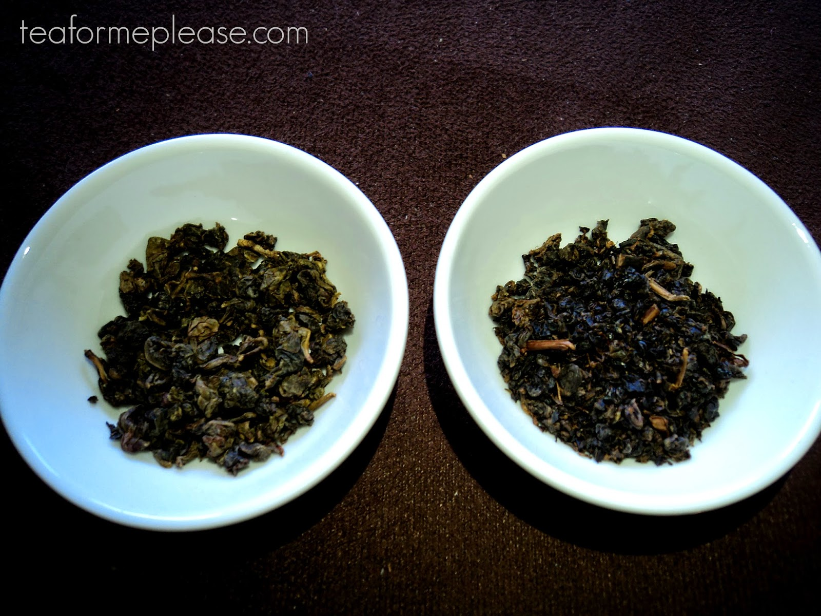Global Tea Hut June 2014 - Mi Xiang Oolong and Red Tea