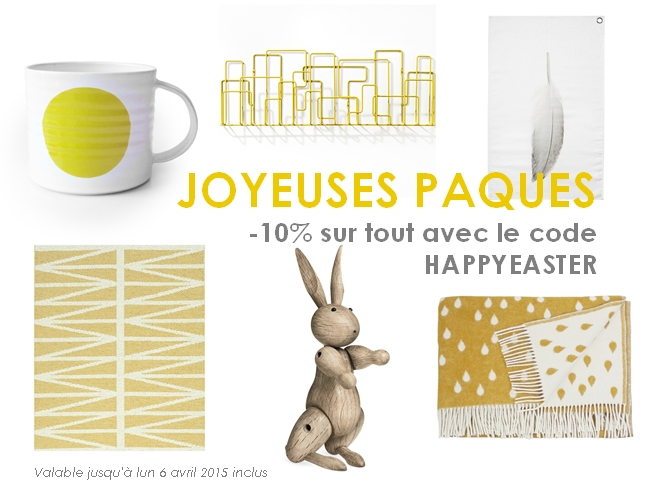 Happy Easter with 10% off everything!