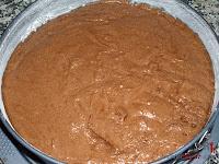 Tarta de chocolate, nata y granadina - Paso 5-2
