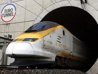terowngan kereta Channel Tunnel