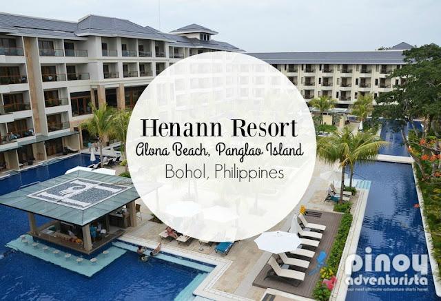 Henann Resort Bohol in Alona Beach Panglao Island