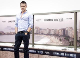 """Entrevista com Colin Farrell no Rio de Janeiro, sobre """"O Vingador do Futuro"""""""