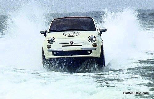 Fiat 500 Splash!