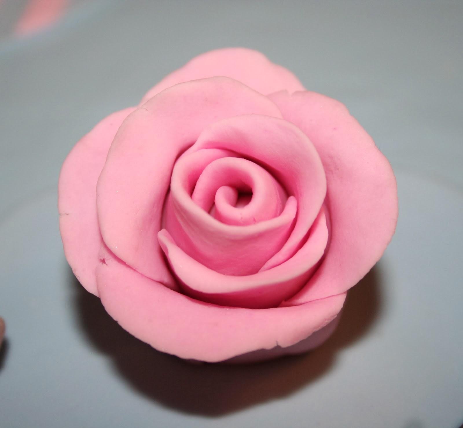 Fabuleux Les cupcakes de Marine : [Tutoriel n°1] Fleurs en pâte d'amande ou  WT56