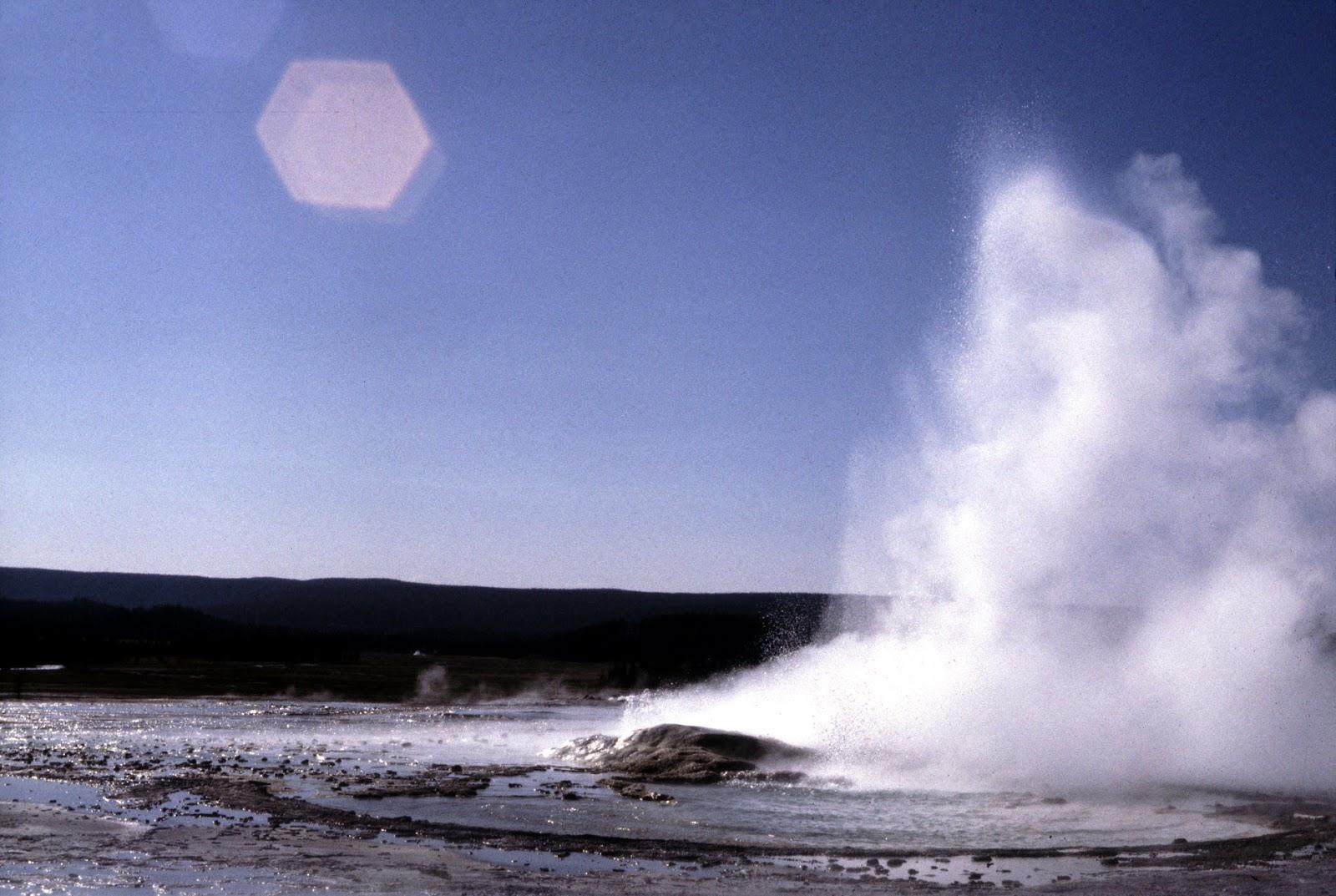 Little geyser