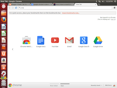 Google Chrome Ubuntu