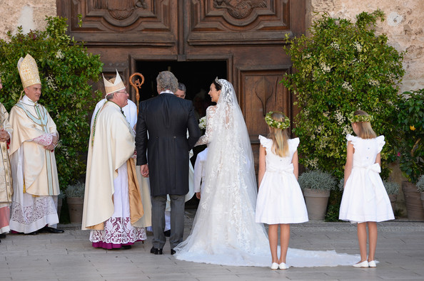 Wedding of Prince Felix and Claire Lademacher - Religious  Ceremony