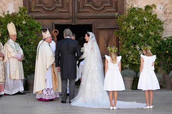 Wedding of Prince Felix and Claire Lademacher - Religious  Ceremony