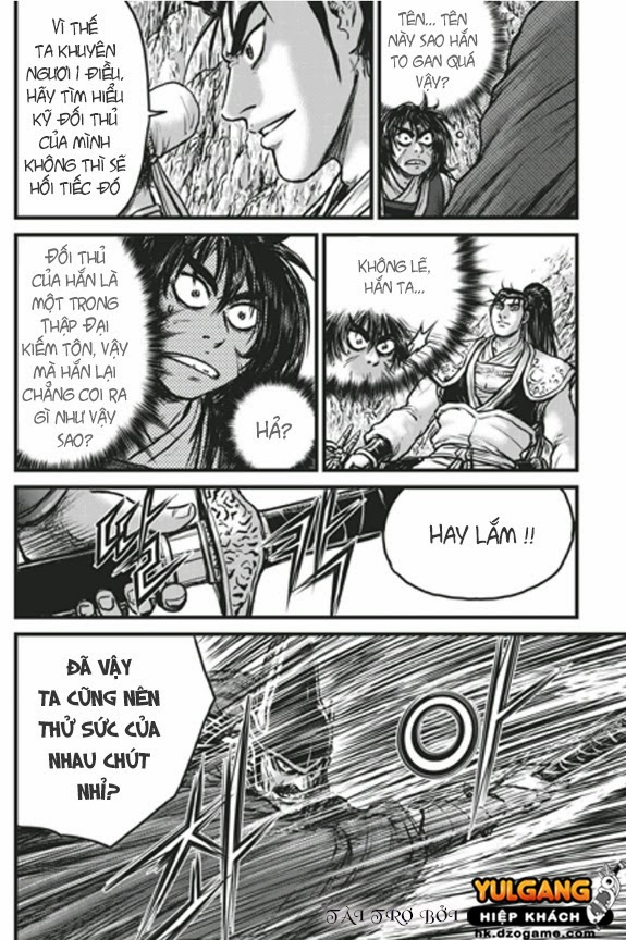 The Ruler of The Land Chap 448 Trang 4