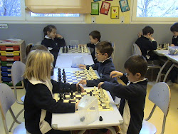 En clase de ajedrez