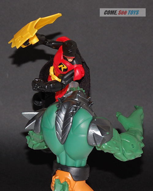 Come, See Toys: Batman Power Attack Strike Shield Robin