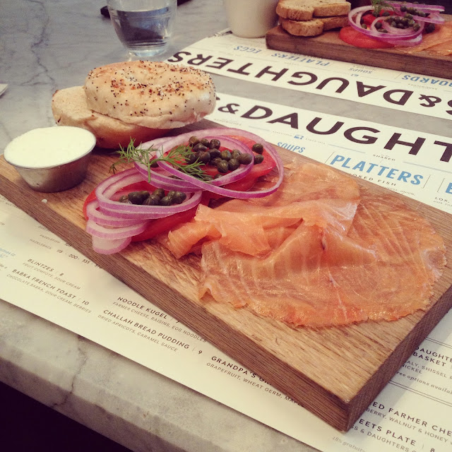 Russ & Daughters Cafe's Classic board