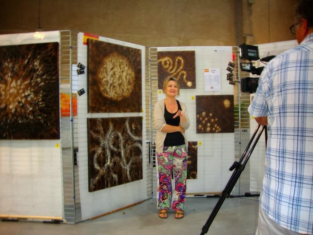 Vídeo Rencontres Artistiques Franco-Espagnoles Carcassonne aout 2013