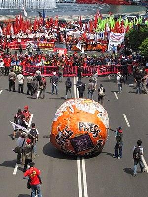 Pawai Hari Buruh 2009 di Jakarta