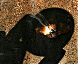 Tehnik Menyalakan Api Dari Es
