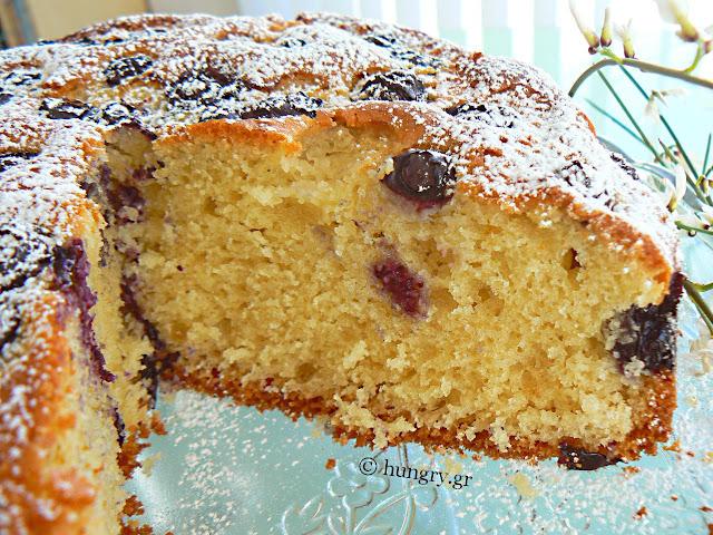 Κέικ με Μύρτιλλα