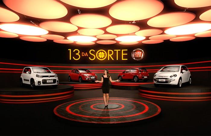 Promoção Fiat 13 anos - Financiamento com parcelas a R$ 13 reais.