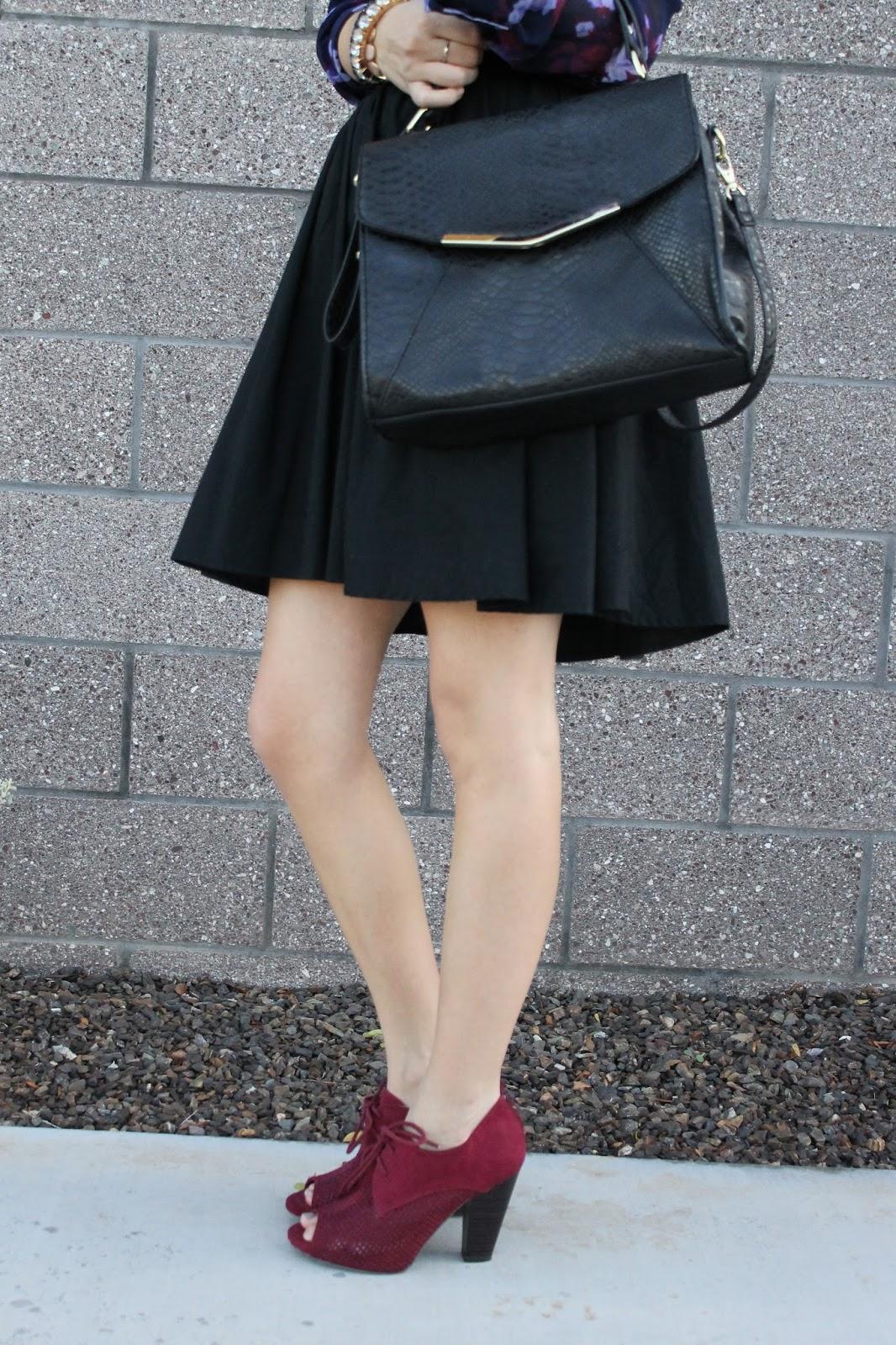 skirt and booties