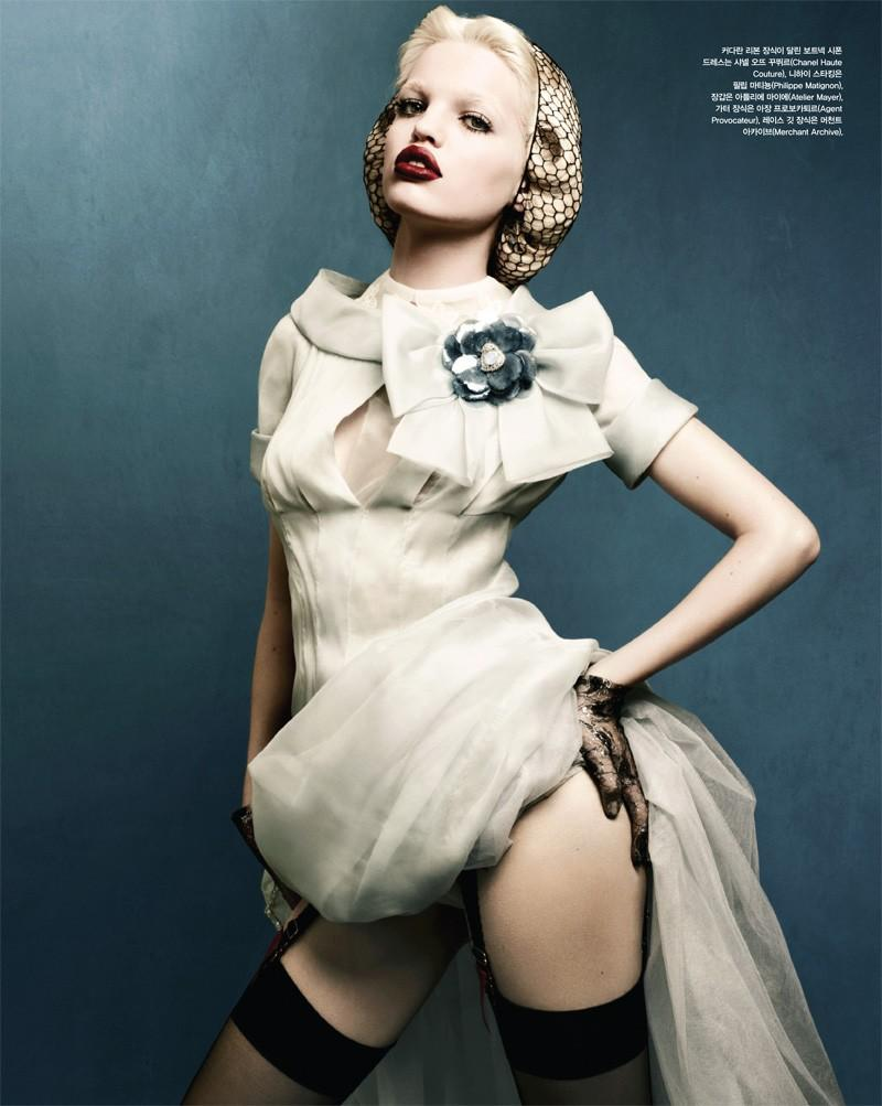 Daphne Groeneveld in Vogue Korea April 2012 by Rafael Stahelin