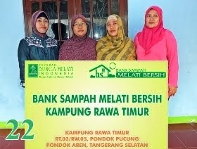 Bank Sampah Melati Bersih Kampung Rawa