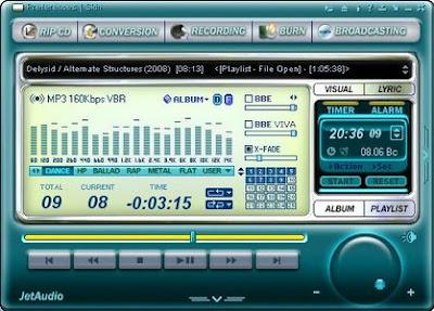 Jet audio player new version