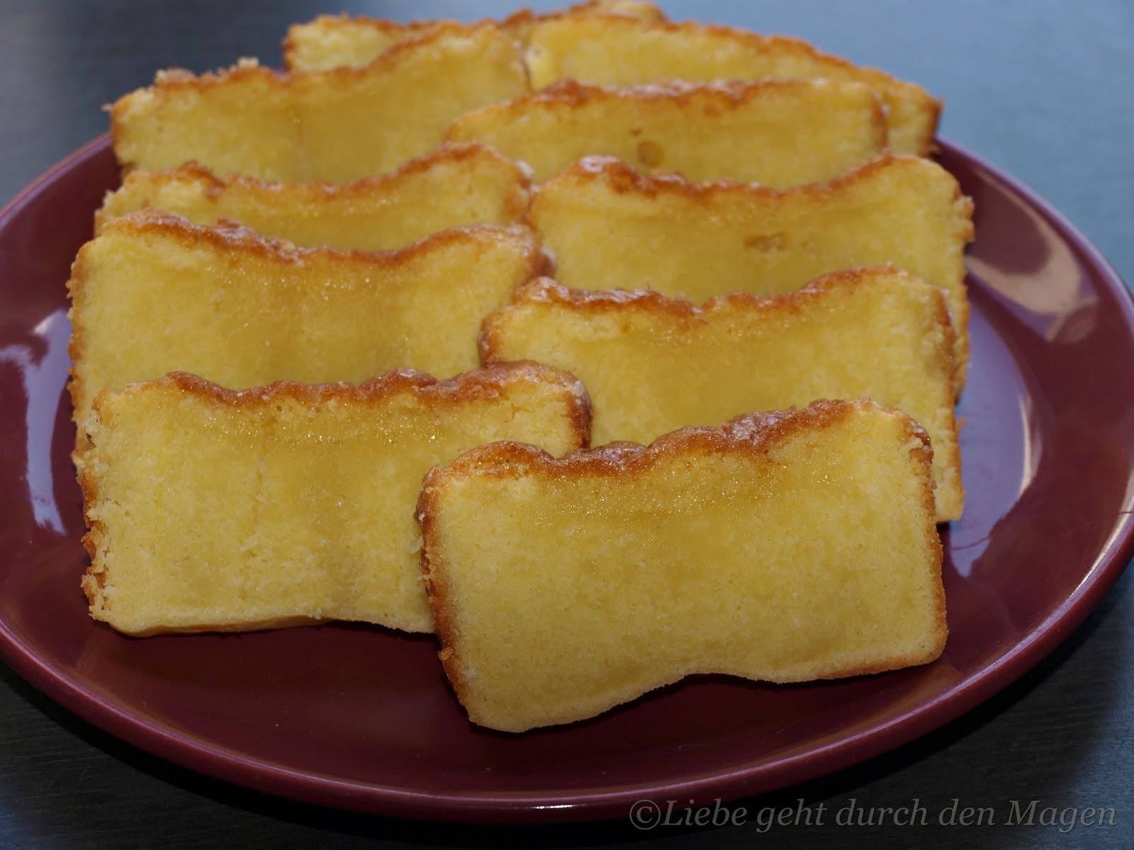 Zitronen ruhrkuchen mit schmand