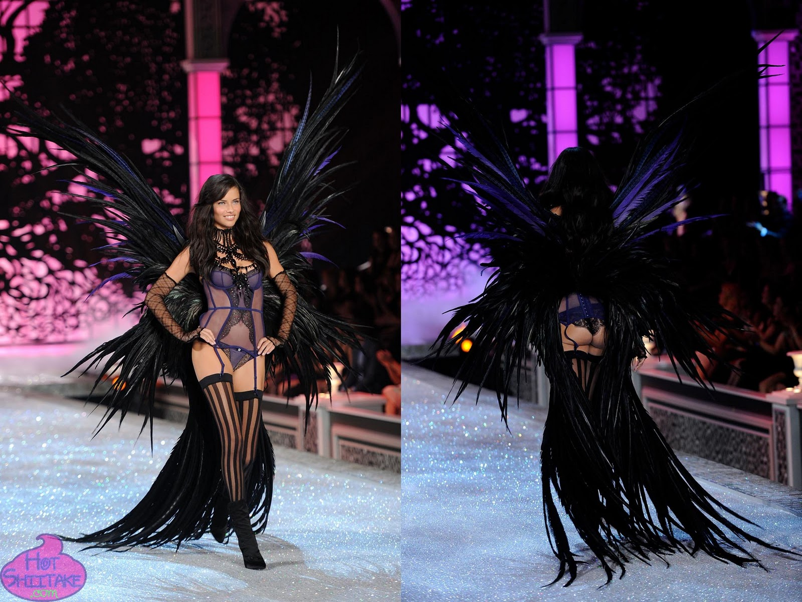 Adriana Lima Butt Victorias Secret Fashion Show 2011