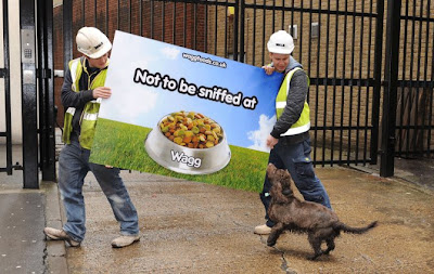 Wagg - not to be sniffed at - scent marketing campaign