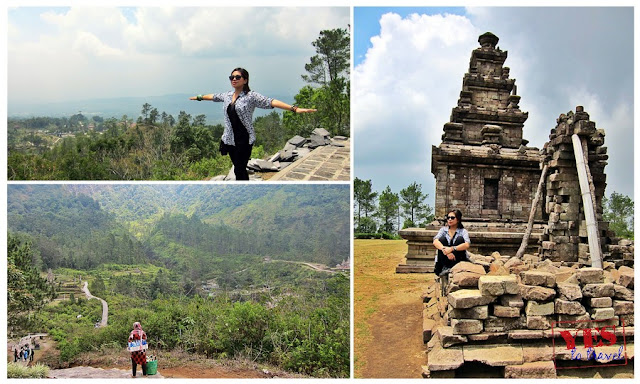 Gedong V - Candi Gedong Songo Java Indonesia