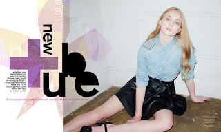 Sophie Turner New Photoshoot by Kristin Vicari for Nylon Magazine