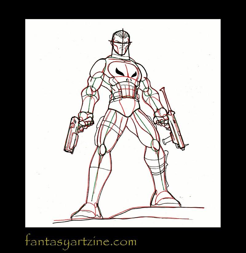 comment dessiner une arme a feu