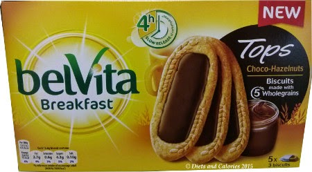 Belvita breakfast biscuit tops choco hazelnut