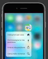 trucchi e consigli 3d touch iphone 6s