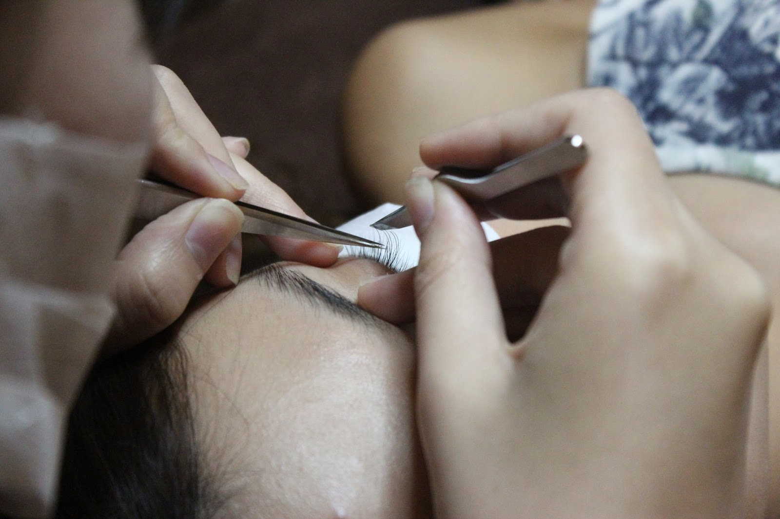 eyelash extensions, highbrow