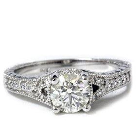 diamond vintage rings