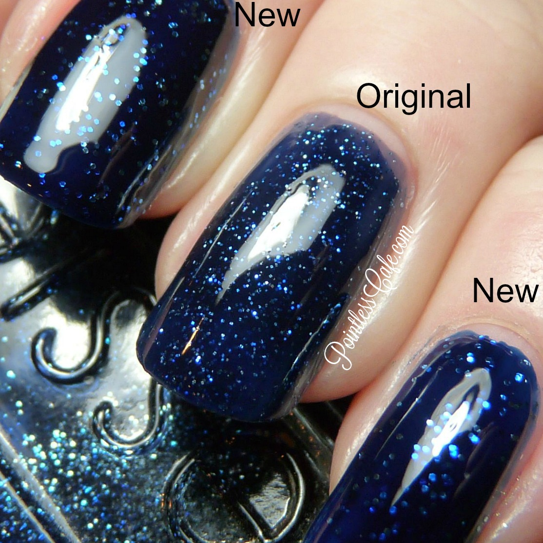 Essie Starry Starry Night - New Version Vs Original: Comparison ...