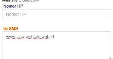 Cara sms gratis di komputer - Panduan Website - Jasa Setting Website