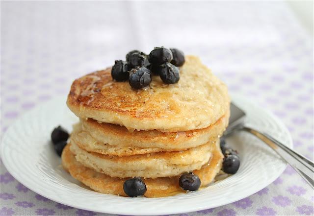 The Gluten Free Vegan Girl!: The Yummiest Blueberry Pancakes