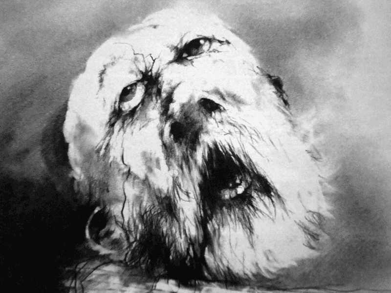 Scary Stories to Tell in the Dark - Me Tie Dough-ty Walker - Stephen Gammell