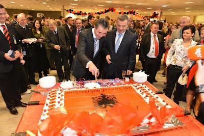La Nato festeggia nella sede Centrale il centenario Indipendenza Albania
