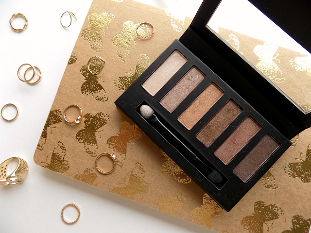 Collection Eyes Uncovered Nude Bronze palette review