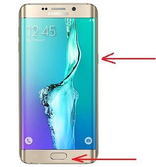 Cara Mudah dan Cepat Screenshot HP Terbaru Samsung Galaxy S6 Edge