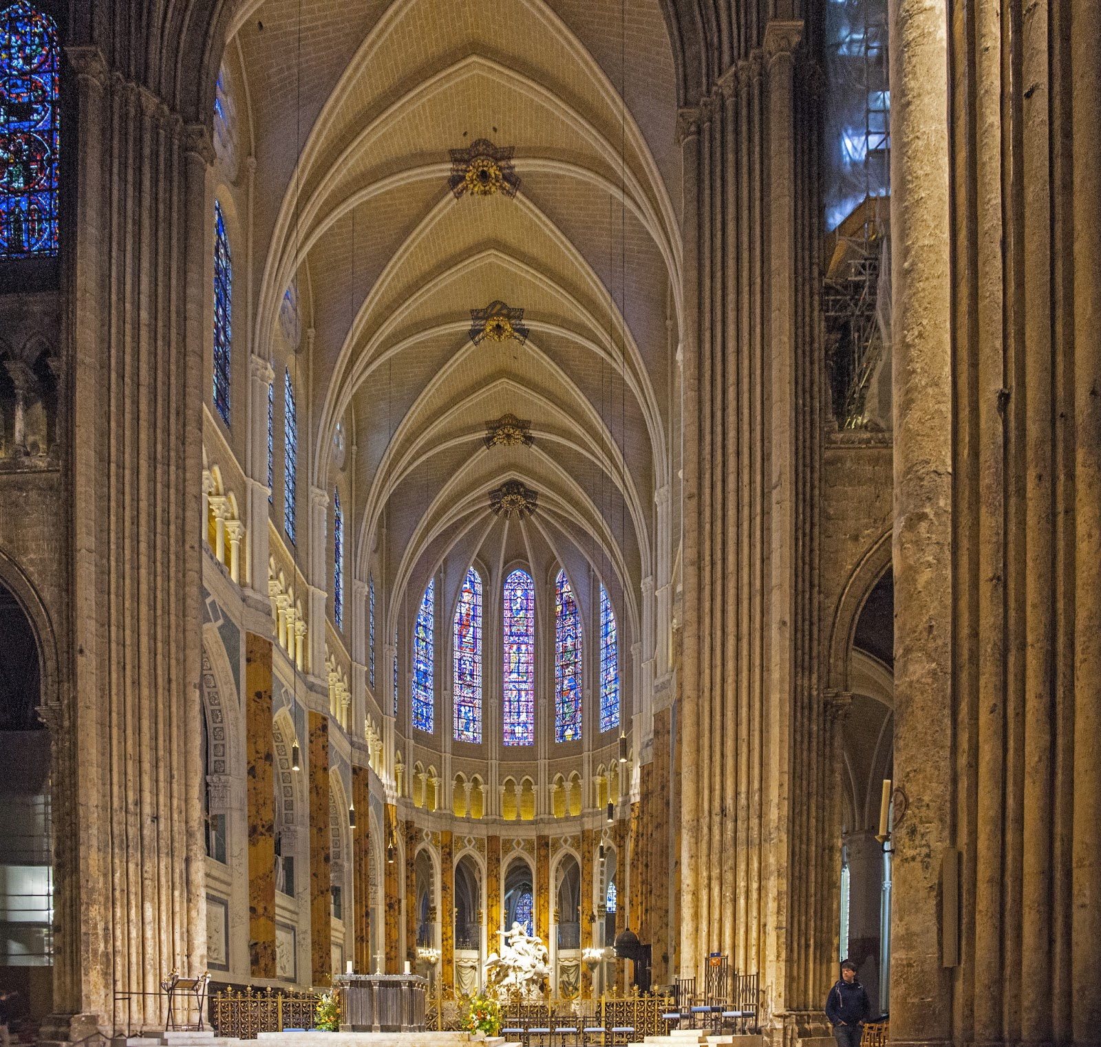 the old cowboy and photography chartres cathedral part ii
