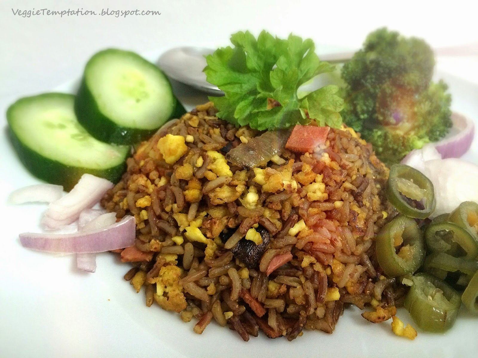 http://veggietemptation.blogspot.sg/2014/06/vegan-egg-fried-brown-rice.html
