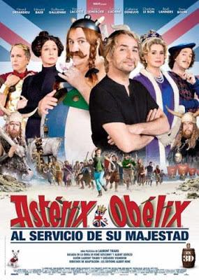 Astérix y Obélix al servicio de su majestad - cine series y tv