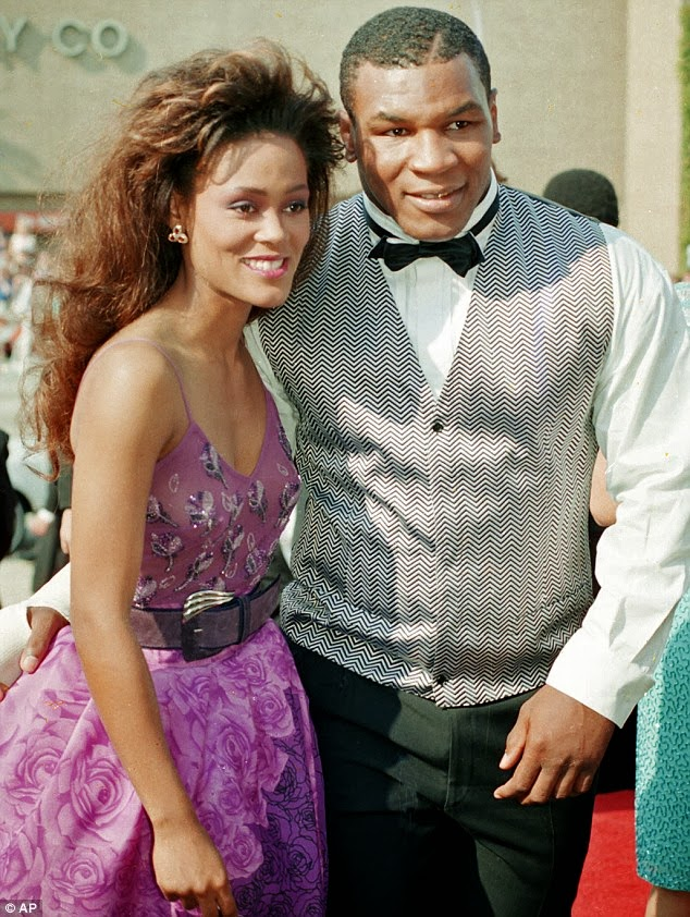 Mike Tyson Caught Ex-Wife Robin Givens Cheating On Him With Brad Pitt
